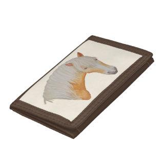 Portefeuille d'aquarelle de Haflinger