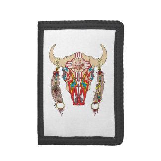 Portefeuille de bison d'Apache d'équipe
