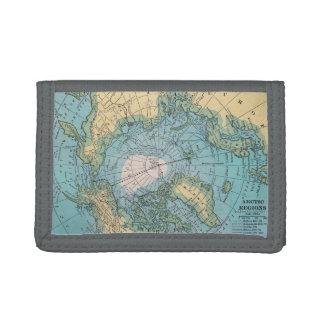 Portefeuille de carte de région arctique