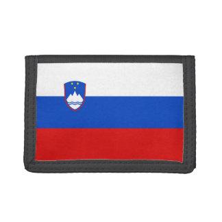 Portefeuille de drapeau de la Slovénie