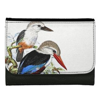 Portefeuille d'étang d'animaux de faune d'oiseaux