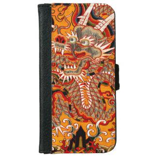 Portefeuille graphique d'iPhone de dragon chinois