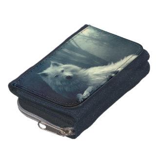 Portefeuille Loup arctique - loup de forêt - loup de neige -