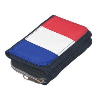 Portefeuille patriotique avec le drapeau de la