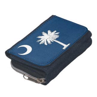 Portefeuille patriotique avec le drapeau de l'état