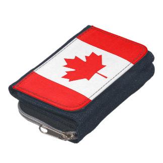Portefeuille patriotique avec le drapeau du Canada
