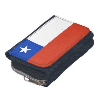 Portefeuille patriotique avec le drapeau du Chili