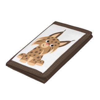 Portefeuille Prankish de Lynx de bande dessinée mi
