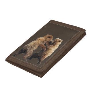 portefeuille triple avec le jeu de petits animaux