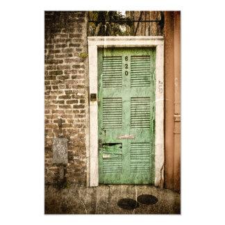 Portes de quartier français art photographique