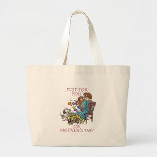 Portez cette maman sac en toile jumbo
