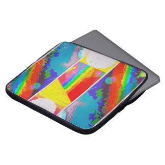 Portez l'arc-en-ciel protection pour ordinateur portable