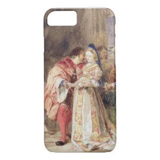 Portia et Bassanio, c.1826 (la semaine, encre Coque iPhone 7