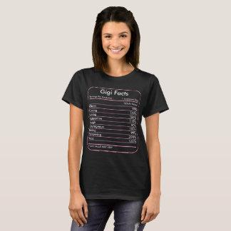 Portions de faits de Gigi par T-shirt de récipient