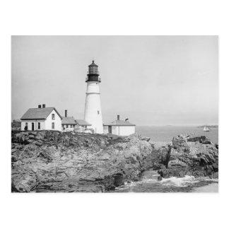 Portland Light principale, 1902 Carte Postale