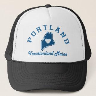 Portland Maine Casquette De Camionneur
