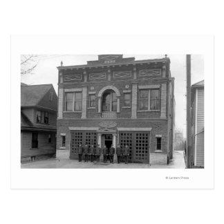 Portland, OU photographie de vue de la caserne de Carte Postale