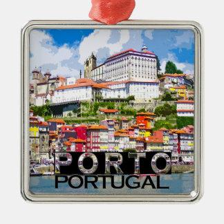 Porto Ornement Carré Argenté