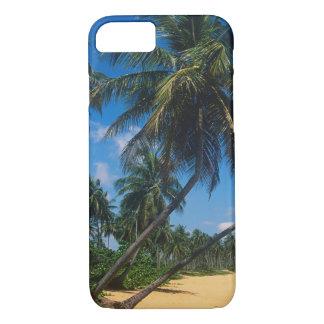 Porto Rico, Isla Verde, palmiers Coque iPhone 7