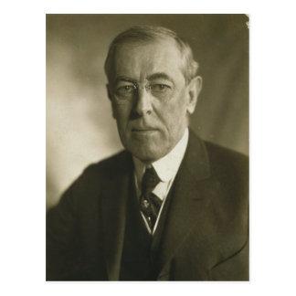 Portrait 1919 du Président Woodrow Wilson Cartes Postales