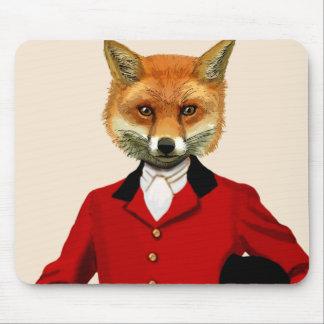 Portrait 2 du chasseur de Fox 2 Tapis De Souris