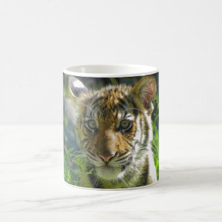 Portrait 3 de CUB de tigre Mug