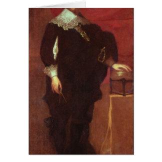 Portrait d'Abel Janszoon Tasman Carte De Vœux