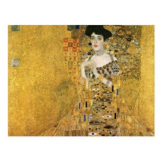 Portrait d'Adele Bloch-Bauer Cartes Postales