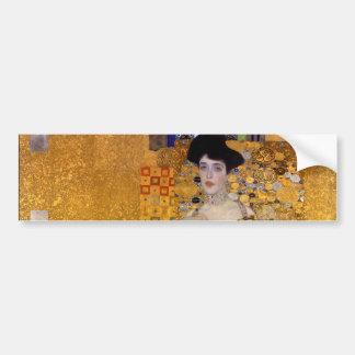 Portrait d'Adele Bloch-Bauer par Gustav Klimt 1907 Autocollant De Voiture