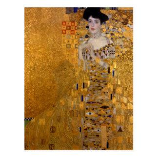 Portrait d'Adele Bloch-Bauer par Klimt Cartes Postales