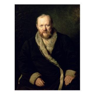 Portrait d'Aleksandr Ostrovsky 1871 Carte Postale