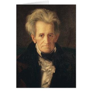 Portrait d'Andrew Jackson Cartes
