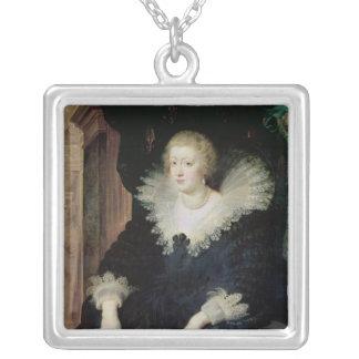 Portrait d'Anne de l'Autriche c.1622 Pendentif Carré