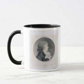 Portrait d'Anne-Josephe Trewagne Tasses
