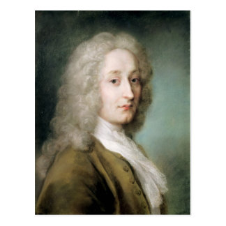 Portrait d'Antoine Watteau Carte Postale