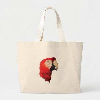 Portrait d'ara grand sac