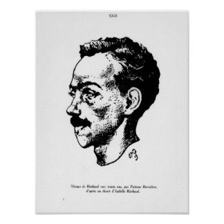 Portrait d'Arthur Rimbaud Posters