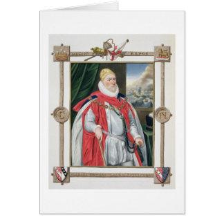 Portrait de 1536-1624) 2èmes barons o de Charles Carte De Vœux