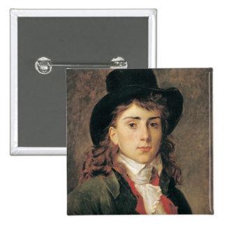Portrait de baron Antoine Jean Gros âgé 20 Badge