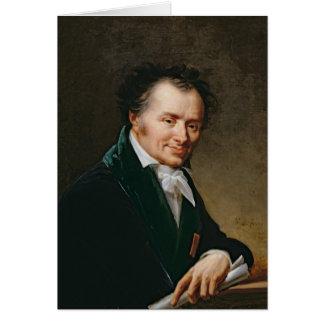 Portrait de baron Denon, 1808 de Dominique Vivant Carte De Vœux