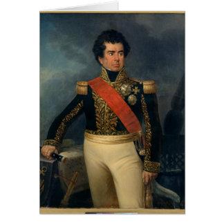 Portrait de baron Duperre, 1839 de Victor-Type Carte De Vœux