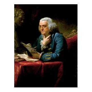 Portrait de Benjamin Franklin Carte Postale