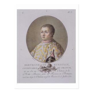 Portrait de Bertrand du Guesclin (1311-80), haut C Carte Postale