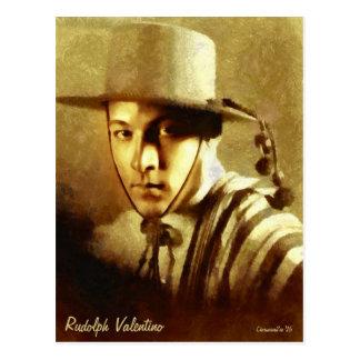 Portrait de carte postale d'art de Rudolph
