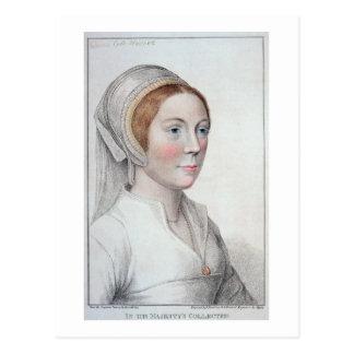 Portrait de Catherine Howard (1520-42) gravé par Carte Postale