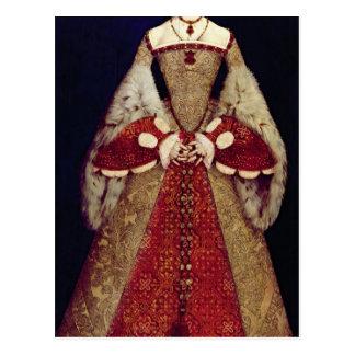 Portrait de Catherine Parr, 1545 Carte Postale