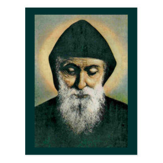 Portrait de Charbel de saint Cartes Postales