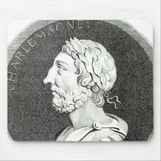 Portrait de Charlemagne Tapis De Souris