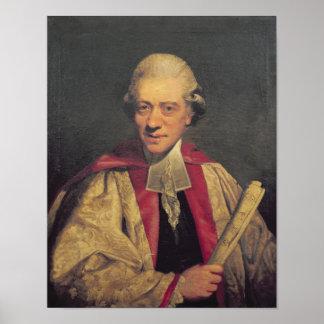 Portrait de Charles Burney, c.1781 Poster