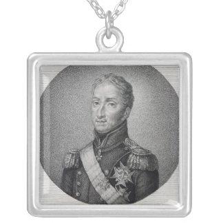 Portrait de Charles de la France Pendentif Carré